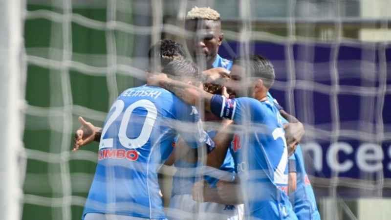Napoli-Bassa Anaunia, la gara amichevole termina 12-0 per gli azzurri