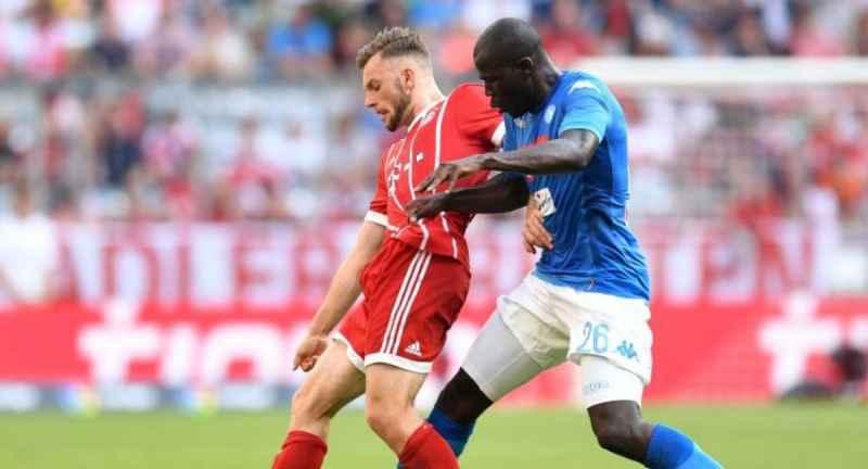 Bayern Monaco-Napoli, il primo tempo termina senza reti