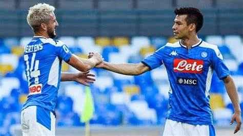 Napoli-Venezia: Lozano partirà dalla panchina, Mertens assente
