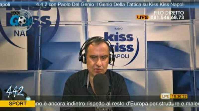 """Del Genio: """"Juve in crisi d'identità. Manolas ha complicato tatticamente la gara Osimhen deve migliorare"""""""