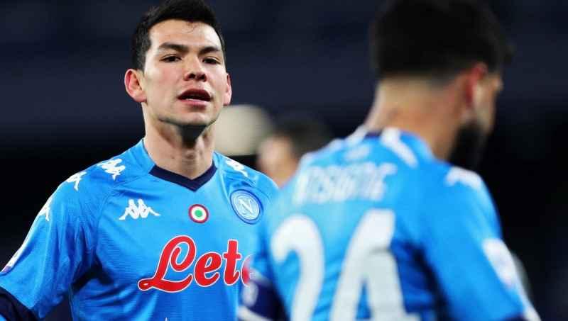 Napoli: Insigne verso la panchina, contro il Leicester spazio a Lozano