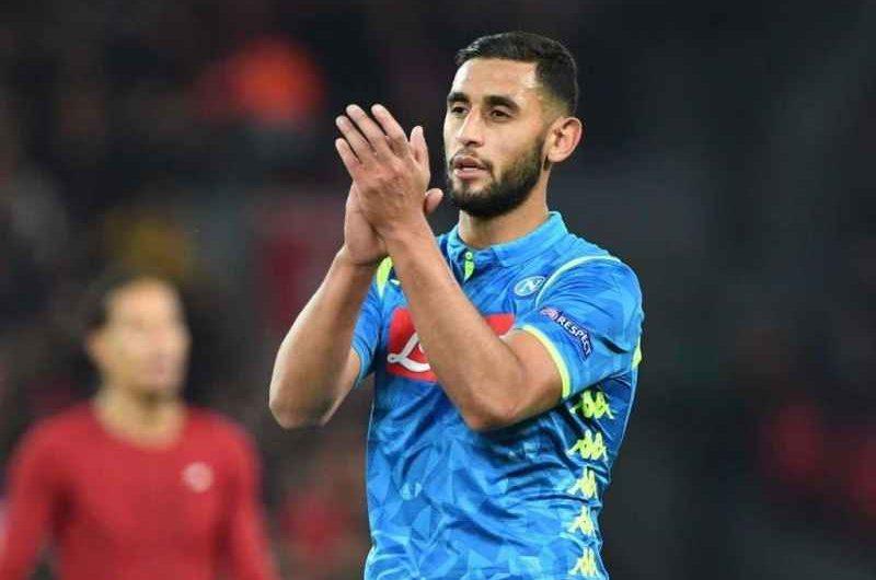 Napoli: finalmente Ghoulam, può tornare contro la Fiorentina