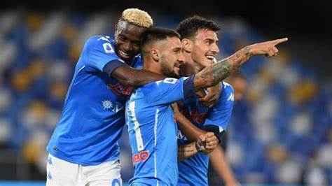 Napoli, l'allenamento della squadra in vista della sfida contro il Benevento