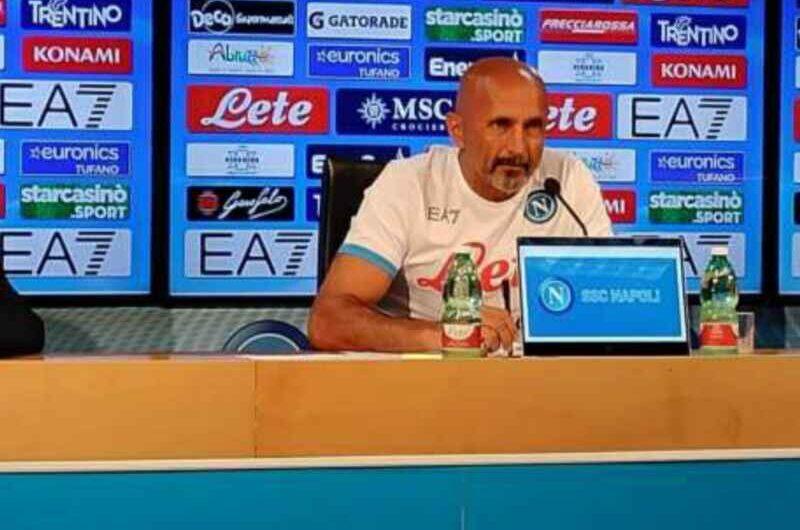 """Spalletti: """"Meret giocherà perché merita. Recuperati Mertens, Demme e Lobotka. Ghoulam non pronto"""""""