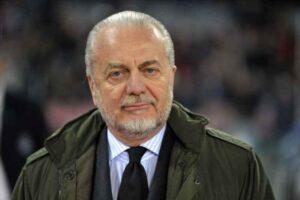 Roma Napoli, De Laurentiis fa i complimenti a Spalletti ed alla squadra